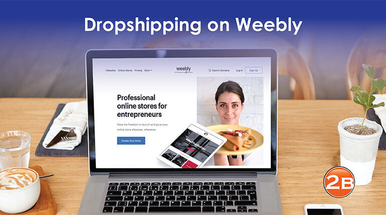 dropshipping on Weebly
