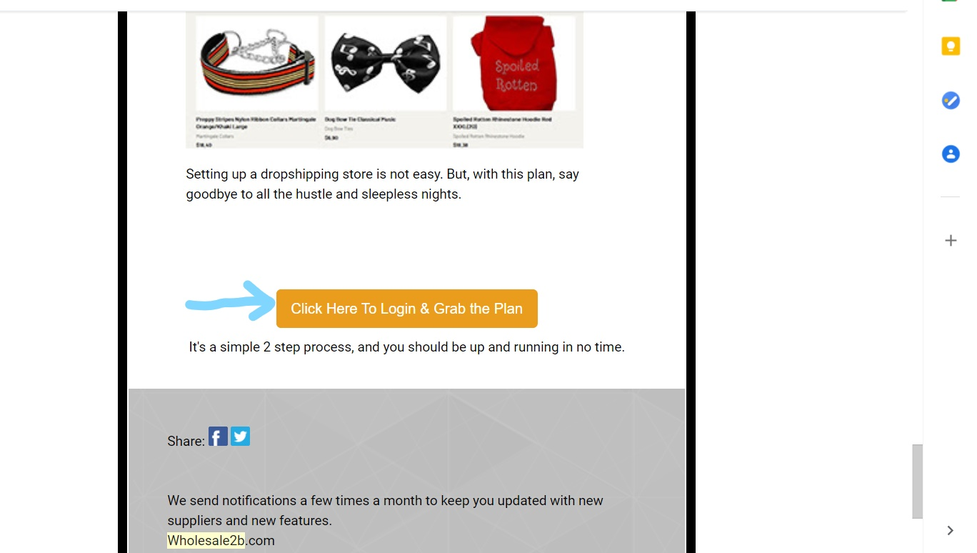 email marketing for dropshipping