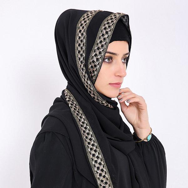 chiffon hijab scarf