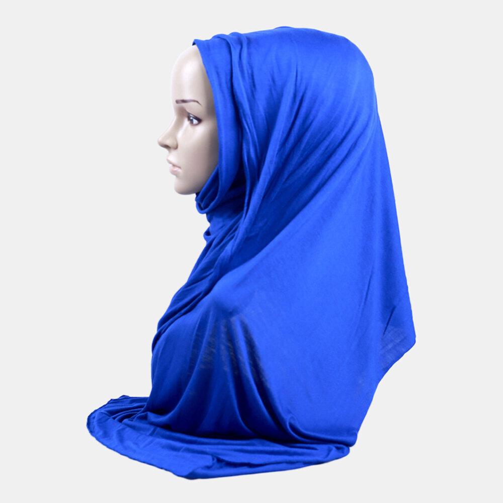 mercerized cotton hijab
